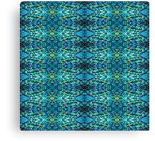 Bluzure Batik Canvas Print