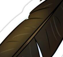 Raven Feather Sticker