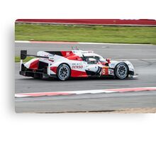 Toyota Gazoo Racing No 6 Canvas Print