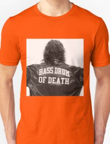 Bass drum of Death (3 of 3)  Unisex T-Shirt