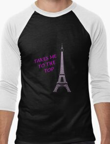 EIFFEL TOWER Men's Baseball ¾ T-Shirt