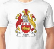 Keen Coat of Arms / Keen Family Crest Unisex T-Shirt