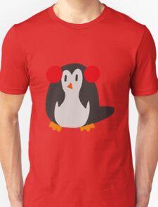 Earmuffs Penguin T-Shirt