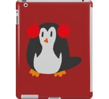 Earmuffs Penguin iPad Case/Skin
