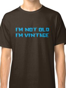 Cool Old Vintage Man T-Shirt Classic T-Shirt