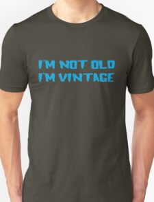 Cool Old Vintage Man T-Shirt Unisex T-Shirt
