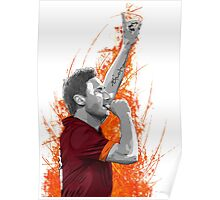 Francesco Totti - AS Roma Poster