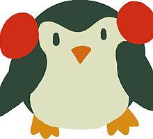 Cute Winter Penguin by SaradaBoru