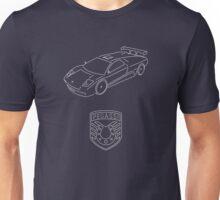 GTA V - Infernus Outline (White) Unisex T-Shirt