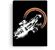 firefly white color Canvas Print
