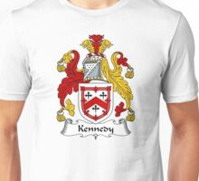 Kennedy Coat of Arms / Kennedy Family Crest Unisex T-Shirt