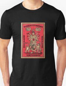 Durga Safety Matches - Matchbox Art T-Shirt