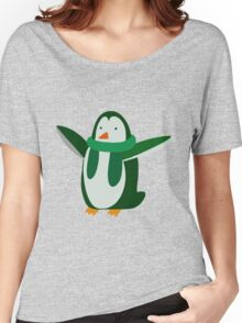 Green Penguin Women's Relaxed Fit T-Shirt