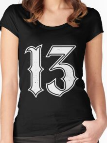 Lucky Number 13 Women's Fitted Scoop T-Shirt