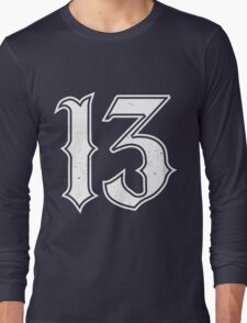 Lucky Number 13 Long Sleeve T-Shirt