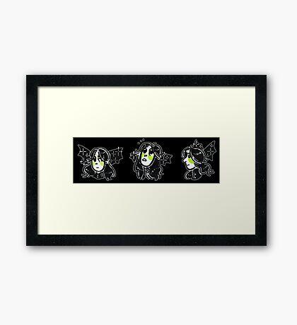 Menacing mellotron solo Framed Print
