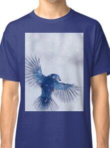 Winter Chickadee 2 Classic T-Shirt