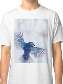 Winter Chickadee 2 Classic T-Shirt