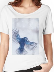 Winter Chickadee 2 Women's Relaxed Fit T-Shirt