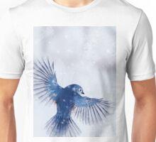 Winter Chickadee 2 Unisex T-Shirt