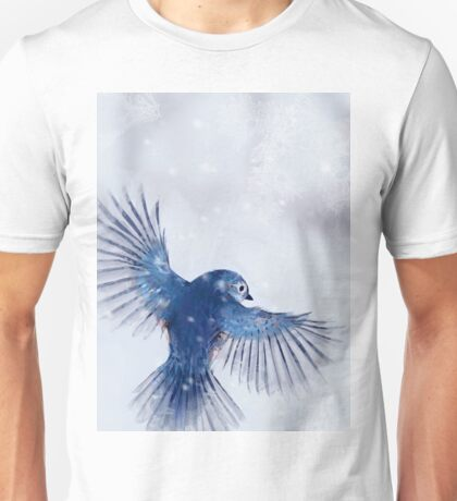 Winter Chickadee 2 Unisex T-Shirt