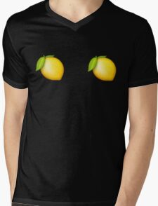 Lemon Covers Mens V-Neck T-Shirt