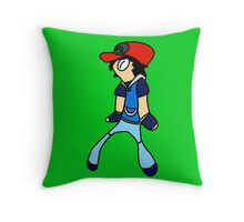 Bold And Ash Throw Pillow