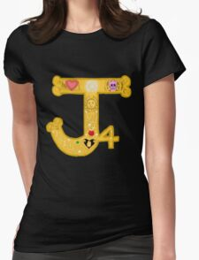 JJBA P4 Logo Womens Fitted T-Shirt