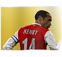 Thierry Henry - Arsenal Poster