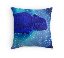 Calming Chameleon Throw Pillow