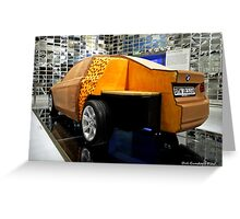 Design a BMW .. first get a large cheese ... Greeting Card