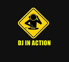 DJ in action Unisex T-Shirt