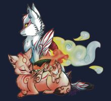 Okami: The Wolves Of The Brush Baby Tee