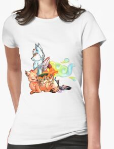 Okami: The Wolves Of The Brush Womens Fitted T-Shirt