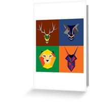 Game of Thrones Banners  Greeting Card