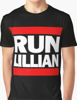 Unbreakable Kimmy Schmidt Inspired Rap Mashup - RUN Lillian - UKS Shirt - Females are Strong as Hell Parody Shirt Graphic T-Shirt