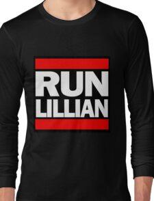 Unbreakable Kimmy Schmidt Inspired Rap Mashup - RUN Lillian - UKS Shirt - Females are Strong as Hell Parody Shirt Long Sleeve T-Shirt