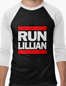 Unbreakable Kimmy Schmidt Inspired Rap Mashup - RUN Lillian - UKS Shirt - Females are Strong as Hell Parody Shirt Men's Baseball ¾ T-Shirt