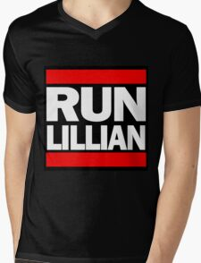 Unbreakable Kimmy Schmidt Inspired Rap Mashup - RUN Lillian - UKS Shirt - Females are Strong as Hell Parody Shirt Mens V-Neck T-Shirt
