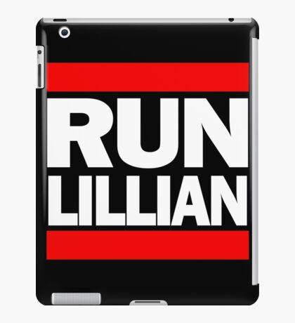 Unbreakable Kimmy Schmidt Inspired Rap Mashup - RUN Lillian - UKS Shirt - Females are Strong as Hell Parody Shirt iPad Case/Skin