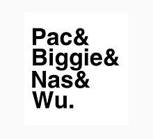 Oldschool hiphop list. Unisex T-Shirt