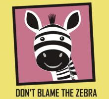DON'T BLAME THE ZEBRA One Piece - Short Sleeve