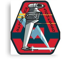 B-WING STARFIGHTER SQUADRON PATCH Canvas Print