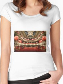 Lyric Theatre, Hammersmith Women's Fitted Scoop T-Shirt