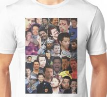 Misha Collins Collage Unisex T-Shirt