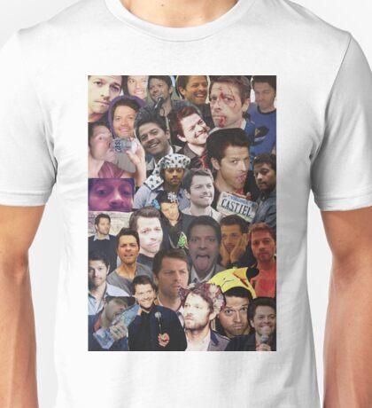 Misha Collins Collage Unisex T-Shirt