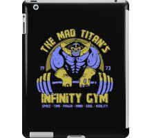 Thanos Gym iPad Case/Skin