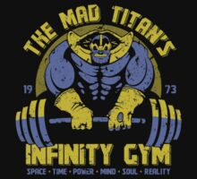 Thanos Gym One Piece - Short Sleeve