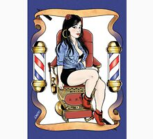 Barber shop girl Unisex T-Shirt
