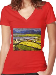 Coast, The West Women's Fitted V-Neck T-Shirt
